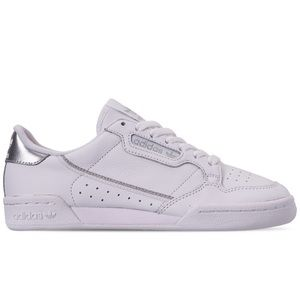 adidas Originals Continental 80 Shoes White Silver
